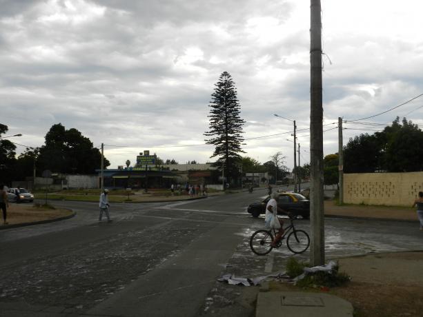 Semáforos en Mendoza y Aparicio Saravia