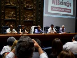 Francisco Fleitas, Sonia Machin, Daniel Martínez, Miguel Pereira, Gabriel Rebollo.