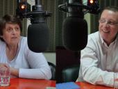 Susana Rodríguez, directora de la Secretaría del Adulto Mayor y Daniel Zarrillo, de la Secretaría de educación física, deporte y recreación