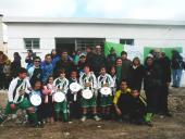 Inauguración del Club Nuevo América de Baby Fútbol - Cortesía Municipio E