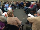 Registro del encuentro con actores locales, gubernamentales y no gubernamentales