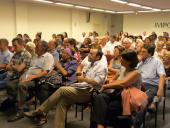 """Público presente en la presentación del libro de """"Diálogos Abiertos"""""""