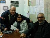 Carlos Garcimartín, Beatriz Pouey y José Piñeyro