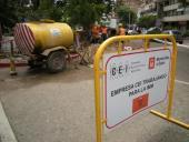 Instalación de semáforos en Gabriel Pereira y José Ellauri