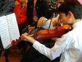 Convenio entre IM y Fundación Sistema de Orquestas - Foto cortesía Municipio B