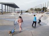 Inauguración del Parque Débora Céspedes. Foto: IM