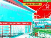 Inauguración Policlínica Tres Ombúes - foto: cortesía Municipio A