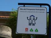 Inauguración explanada en Escuela Sanguinetti