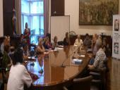 La Comisión Departamental del PP en reunión
