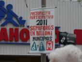 Inauguración de semáforos en Av. Belloni y General Flores