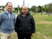 Martín Pérez y Juan Carlos Chaparro