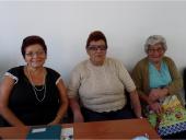 Mary Cambio, Teresa Tajes y Delia Bordón