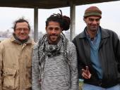 Jorge Rodríguez, Luis Eduardo y Juan Olivera