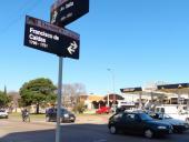 Instalación de semáforos en Av. Italia y Caldas