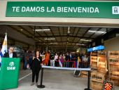 Inauguración de la Unidad Agroalimentaria Metropolitana. Foto: IM.