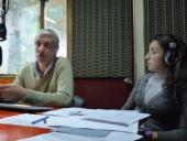 Coordinador de la Unidad de Participación y Planificación, Sr. Willan Masdeu, y Bec. Fiorella Maglieri