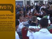 Concierto en Plaza Cagancha Orquesta Infantil Ciudad Vieja