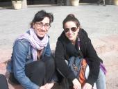 Marby Blanco y Tania Curbelo