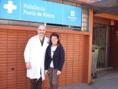 Dr. Gustavo Bertíz y Directora María del Carmen Medina