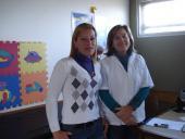 Andrea González y Mireya Gómez