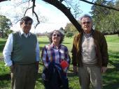 Andrés Cámara, Elsa Halty y Jaime Rodríguez.