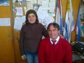 Verónica García y Gabriel Carballal