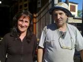 Hermenejildo Ustra y Jaquelina Sarotto