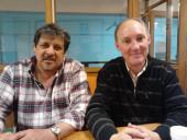 Alfredo Aguilera y Juan Tons