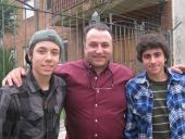 Diego López, Fernando López y Juan Pablo Pulletto