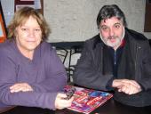 Marisa Vales y Javier Torrano