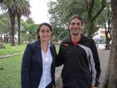 María José Mesa y Santiago Pereira