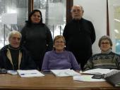 Marth Delgado, Atilio Robledo, Didier Berniel, Elena de Ávila y Carmen Termeniello