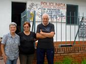 Beatriz Corrales, Lirio Vázquez y Clara Tagliaferro