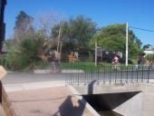 Ensanche de puente en Agustín Bisio y Abrevadero