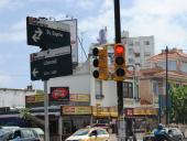 Semáforos en Bv. España y Libertad