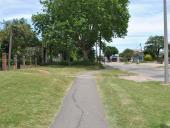 Senda peatonal en tramo de Cno. Tomkinson