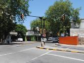 Semáforos en Millán y San Martín