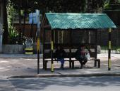 Refugios peatonales