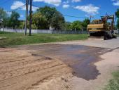 Pavimento de calle Dunant